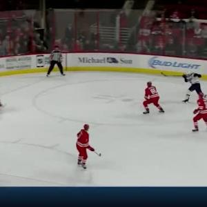 Cam Ward Save on David Backes (02:45/OT)