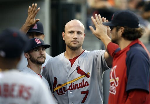 Westbrook's CG leads Cardinals over Tigers 3-1