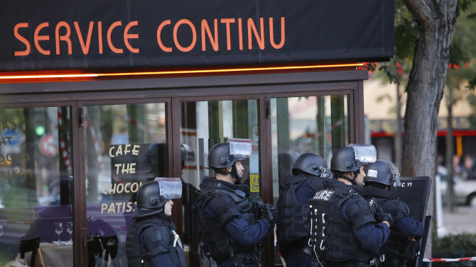 French police: Hostage-taker gives himself up