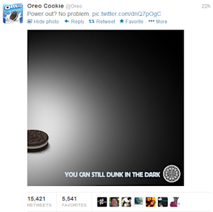 Twitter: Best Practices for Brands image oreo