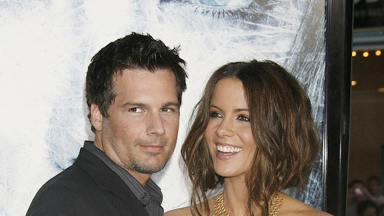 Whiteout LA Premiere 2009 Len Wiseman Kate Beckinsale