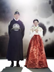 Lee Sang Yoon and Moon Geun Young
