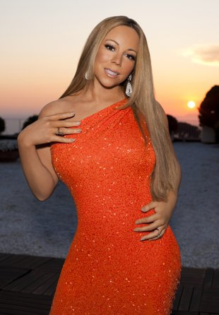 Mariah Carey para American Idol via Fox