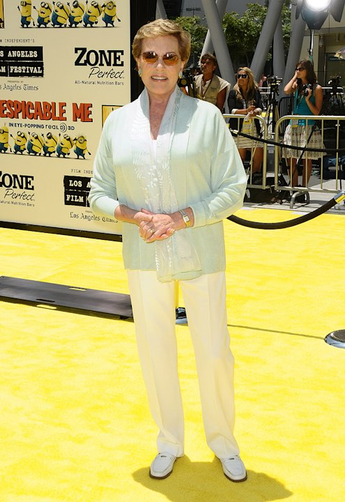 Despicable Me LA premiere 2010 Julie Andrews
