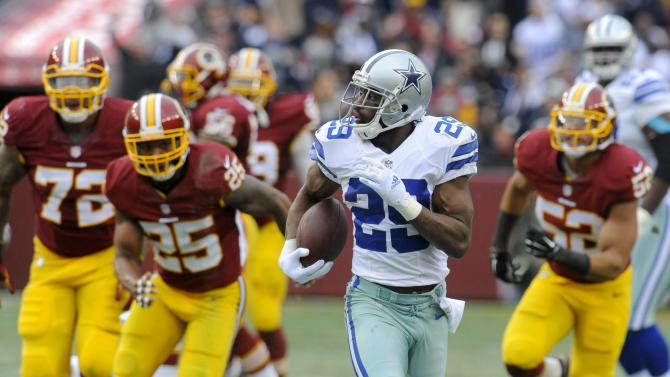 No mailing it in as Cowboys top Redskins 44-17