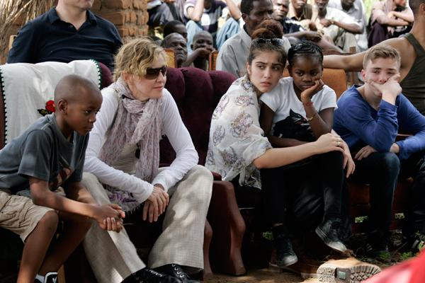 Madonna 'Saddened' by Malawi Government's Criticisms