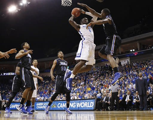 Crawford, No. 20 Tigers roll 85-74 in C-USA semis