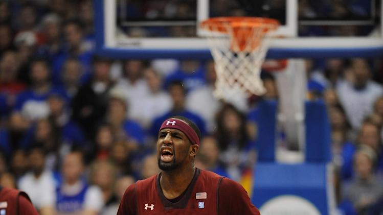 NCAA Basketball: Temple at Kansas