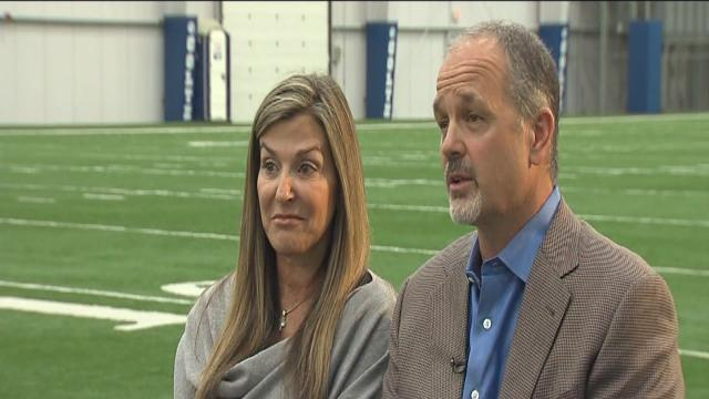 Chuck, Tina Pagano speak out about coach's battle with leukemia