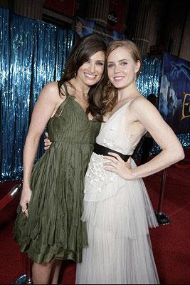 Idina Menzel and Amy Adams at the Los Angeles premiere of Walt Disney Pictures' Enchanted