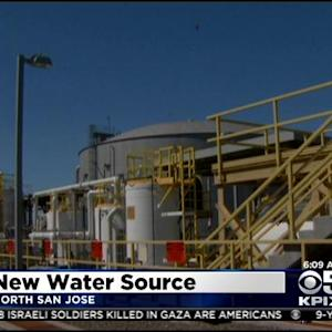 San Jose's New Water Recycling Plant Producing 8-Million Gallons Of Purified Water