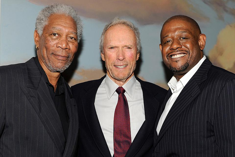 Morgan Freeman 2009 Clint Eastwood Forest Whitaker