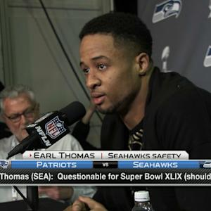 Seattle Seahawks safety Earl Thomas: 'We're reliving our dream'