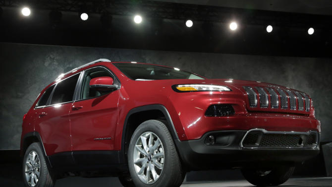 That's a Jeep Cherokee? 2014 model surprises