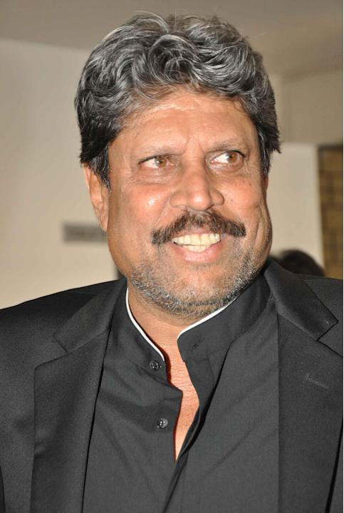 Former cricketer Kapil Dev during press conference of the film `Dil Deewana` in Hyderabad on Nov. 20, 2013