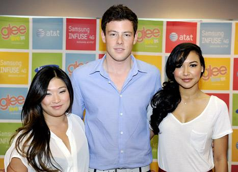 Jenna Ushkowitz Honors Cory Monteith, Thanks Glee Fans for Support