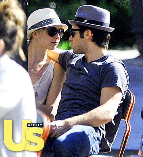 Josh Bowman Packs on PDA With Revenge Costar Emily VanCamp