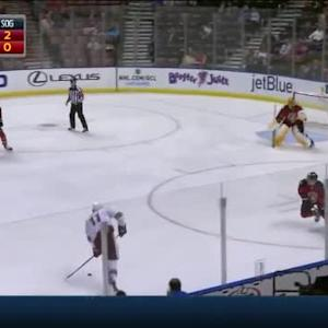 Roberto Luongo Save on Martin Hanzal (04:56/1st)