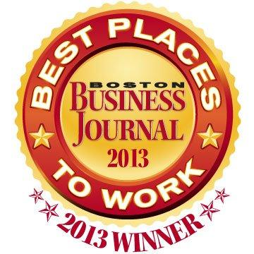 "Boston Business Journal Honors PR Agency Matter Communication as a 2013 ""Best Places to Work"" Winner"