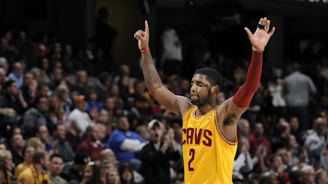 Irving has 1st triple-double, Cavs top Jazz 99-79