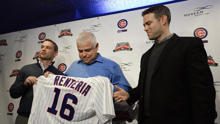New Cubs manager gets official welcome to Chicago