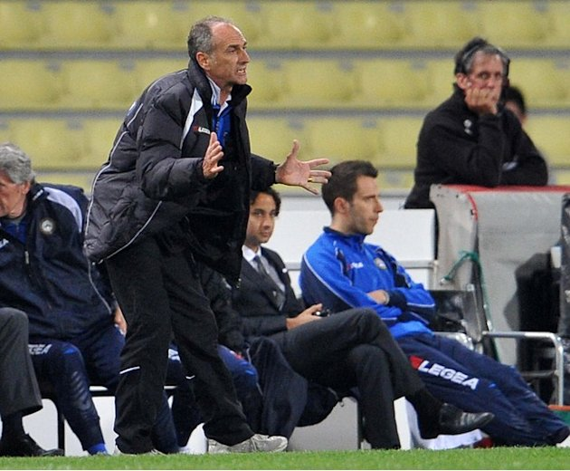 Udinese's Head Coach Francesco Guidolin Gestures AFP/Getty Images