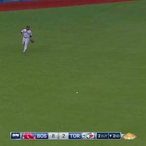 Bautista's two-run single