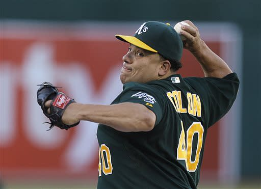 Colon wins 8th straight, A's beat Cardinals 6-1
