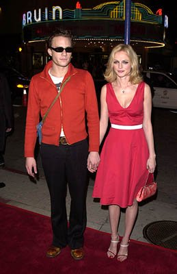 Heath Ledger and Heather Graham at the Westwood premire of 20th Century Fox's Say It Isn't So