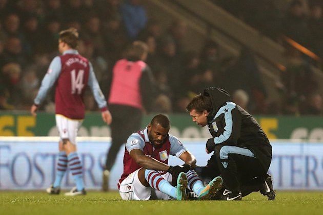 Darren Bent is set to be out until the new year