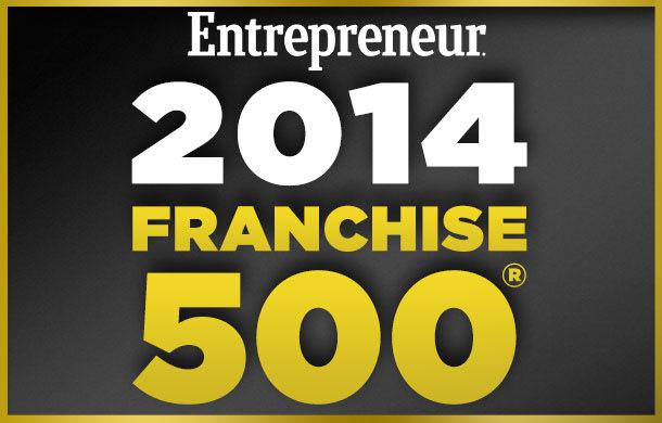 Entrepreneur's 35th Annual Franchise 500