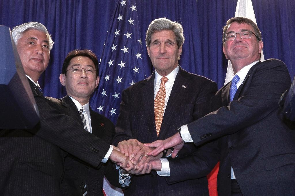 US, Japan widen defense ties in historic sea change