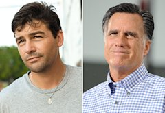 Kyle Chandler, Mitt Romney | Photo Credits: Larry Marano/WireImage