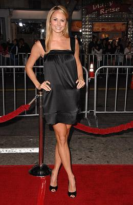 Stacy Keibler at the Los Angeles premiere of DreamWorks Pictures' The Heartbreak Kid