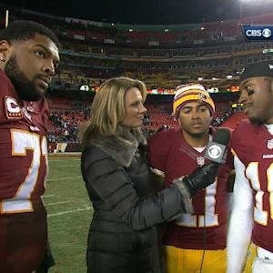 Washington Redskins quarterback Robert Griffin III: 'This is a big win, we got to send them home'