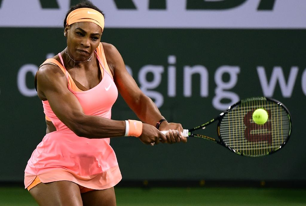 Serena ousts Stephens to extend winning run in Madrid