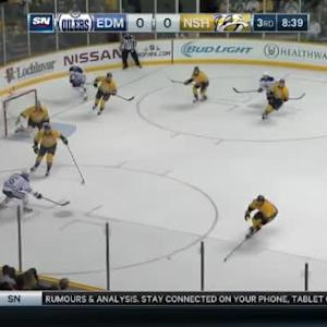 Pekka Rinne Save on Jeff Petry (11:22/3rd)