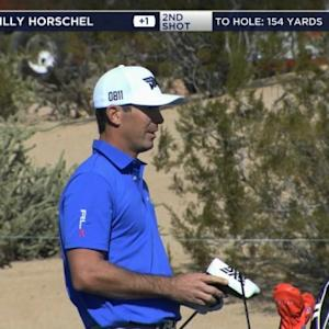Billy Horschel's approach to 8 feet yields birdie at Waste Management