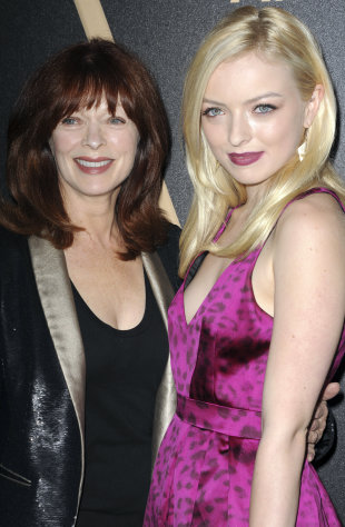 Frances Fisher, at left, and Francesca Eastwood attends HFPA and InStyle's Golden Globe award season celebration at Cecconi's on Thursday, Nov. 29, 2012, in West Hollywood, Calif. (Photo by Katy Winn/Invision/AP)
