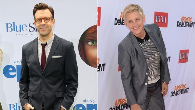 Sudeikis Reveals College Crush: Ellen DeGeneres!