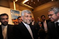 Iran&#39;s chief nuclear negotiator Said Jalili leaves after a press conference in Istanbul. Iran and world powers agreed in nuclear talks Saturday to hold a more in-depth meeting in Baghdad on May 23 where, the EU&#39;s foreign policy chief warned Tehran, concrete results must be achieved