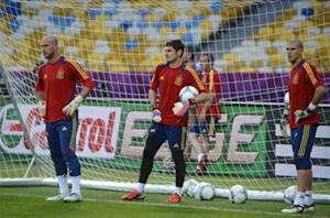 Del Bosque: Casillas is still Spain's No. 1