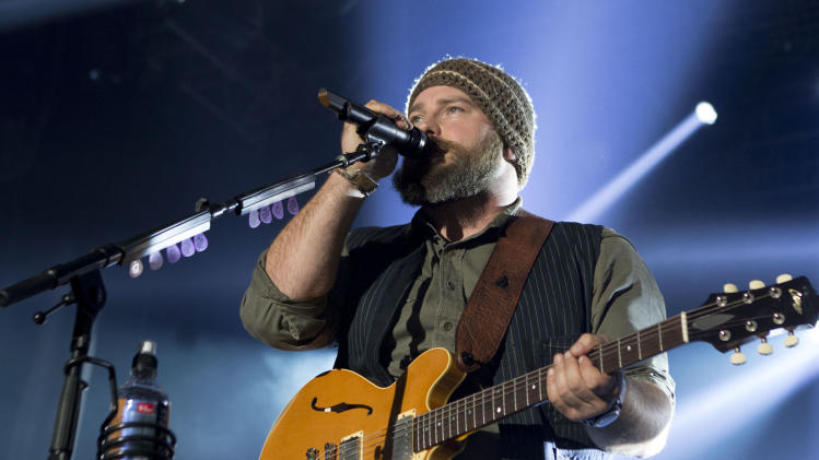 FILE - This Feb. 1, 2014 file photo shows Zac Brown of The Zac Brown Band performing at The Bud Light Hotel, during Super Bowl festivities in New York. The Zac Brown Band will perform June 21 at the Forest Hills Stadium, a storied New York City sports and concert site. The 16,000-seat stadium is entering the second phase of a multimillion dollar renovation project, which includes new seating. (Photo by Greg Allen/Invision/AP, File)