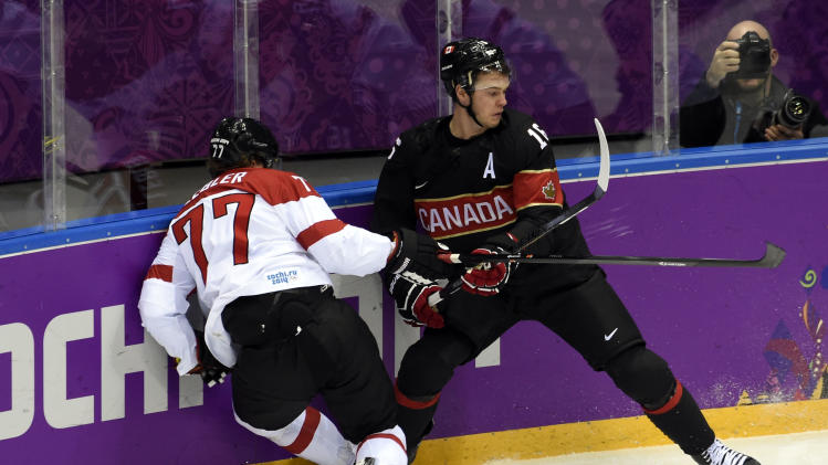 Olympics: Ice Hockey-Men's Prelim Round-CAN vs AUT