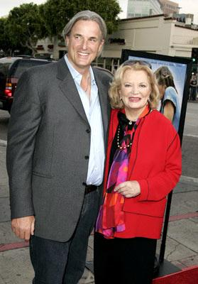 Director Nick Cassavetes and Gena Rowlands at the Los Angeles premiere of New Line's The Notebook