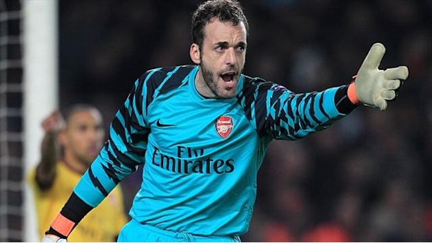 Championship - Almunia: I never look back