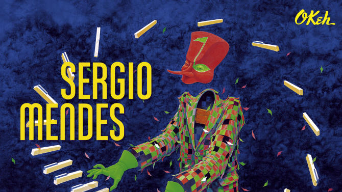 """This CD cover image released by Sony Masterworks shows """"Magic,"""" by Sergio Mendes. (AP Photo/Sony Masterworks)"""