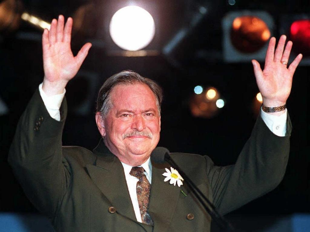 Quebec separatist leader Parizeau dies at 84