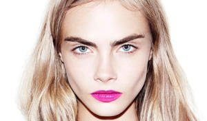 Cara Delivigne and her gorgeous full eyebrows