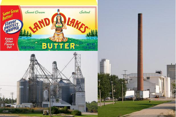 Land O'Lakes, Land O'Factories